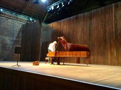 Streicher piano in Aldeburgh Festival