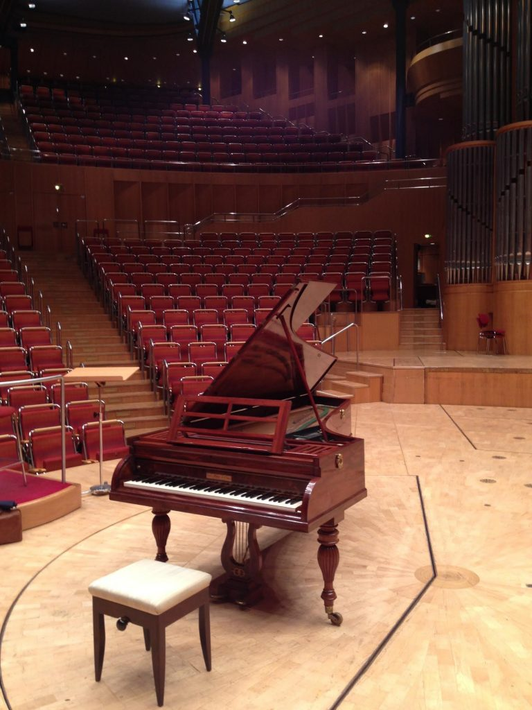 Pianos on tour