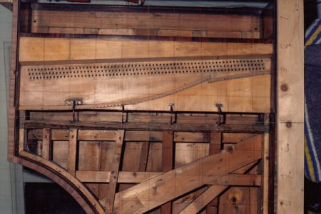 Construction of Broadwood 1807