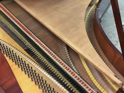 Graf 1830 double soundboard