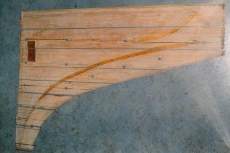Erard 1837 repairing soundboard