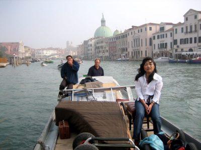 Lagrassa in Venice with Riko Fukuda
