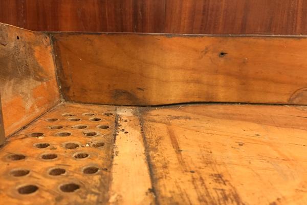 6. Cracks seen from below